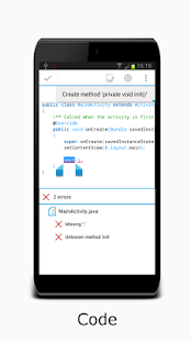 AIDE- IDE for Android Java C++ Screenshot