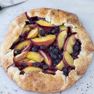 Peach Blueberry Galette