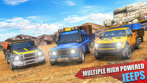 Offroad Jeep Driving & Parking screenshot 4