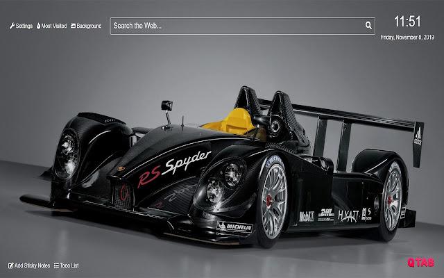 Porsche Wallpaper for New Tab