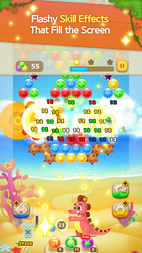 Bubble Shooter: Dino Friends screenshots 1