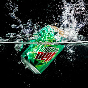 Do The DEW by Israr Shah - Food & Drink Alcohol & Drinks ( splash, dew, dew water splash, dew water tank, israrshah, soft drink )