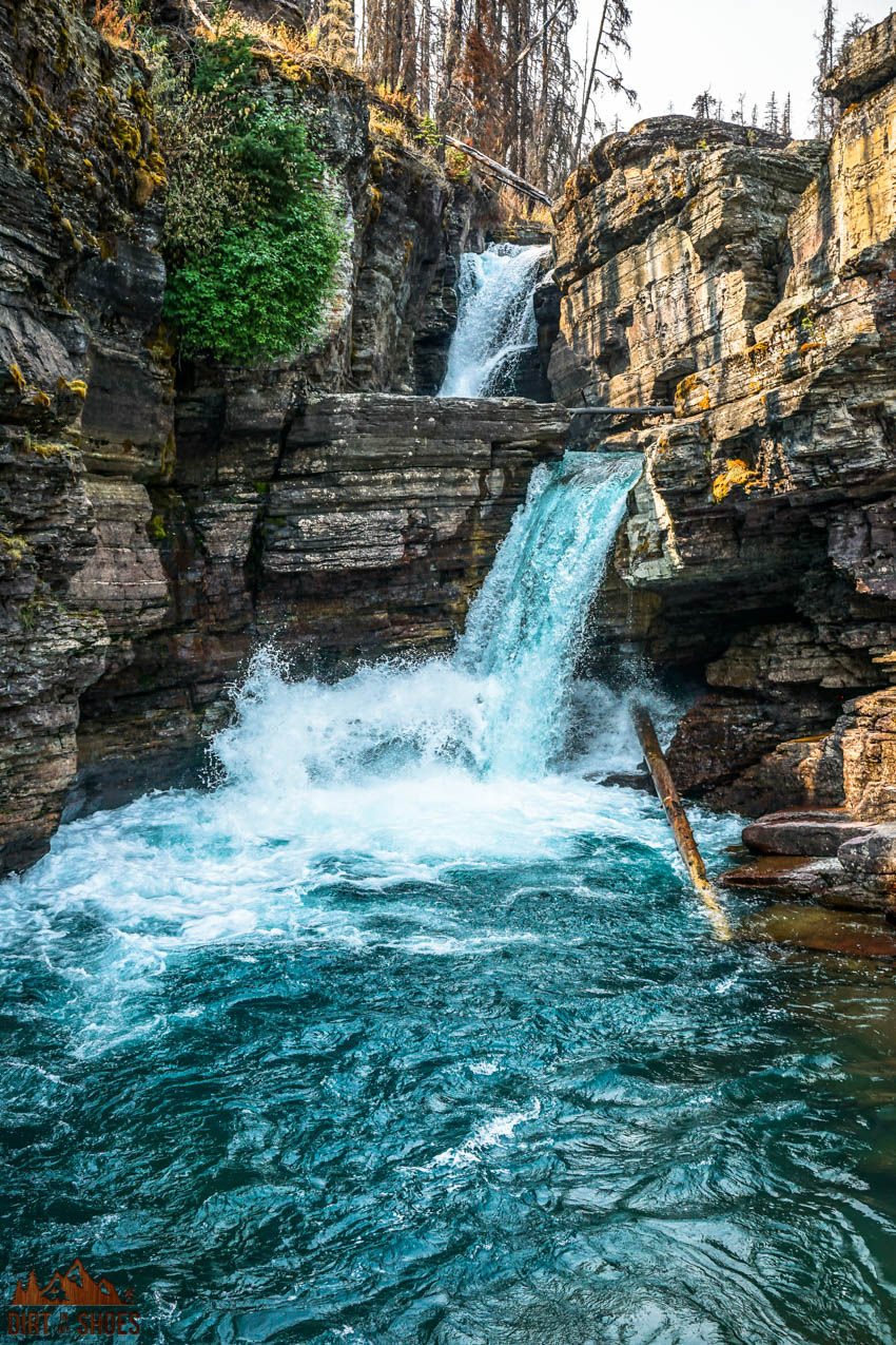 St. Mary Falls || Glacier National Park || Dirt In My Shoes