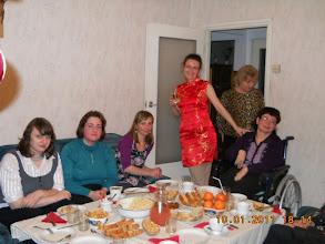 Photo: 10 . 01.  2011 roku  -  a oto i  Ona w czerwonej  sukience