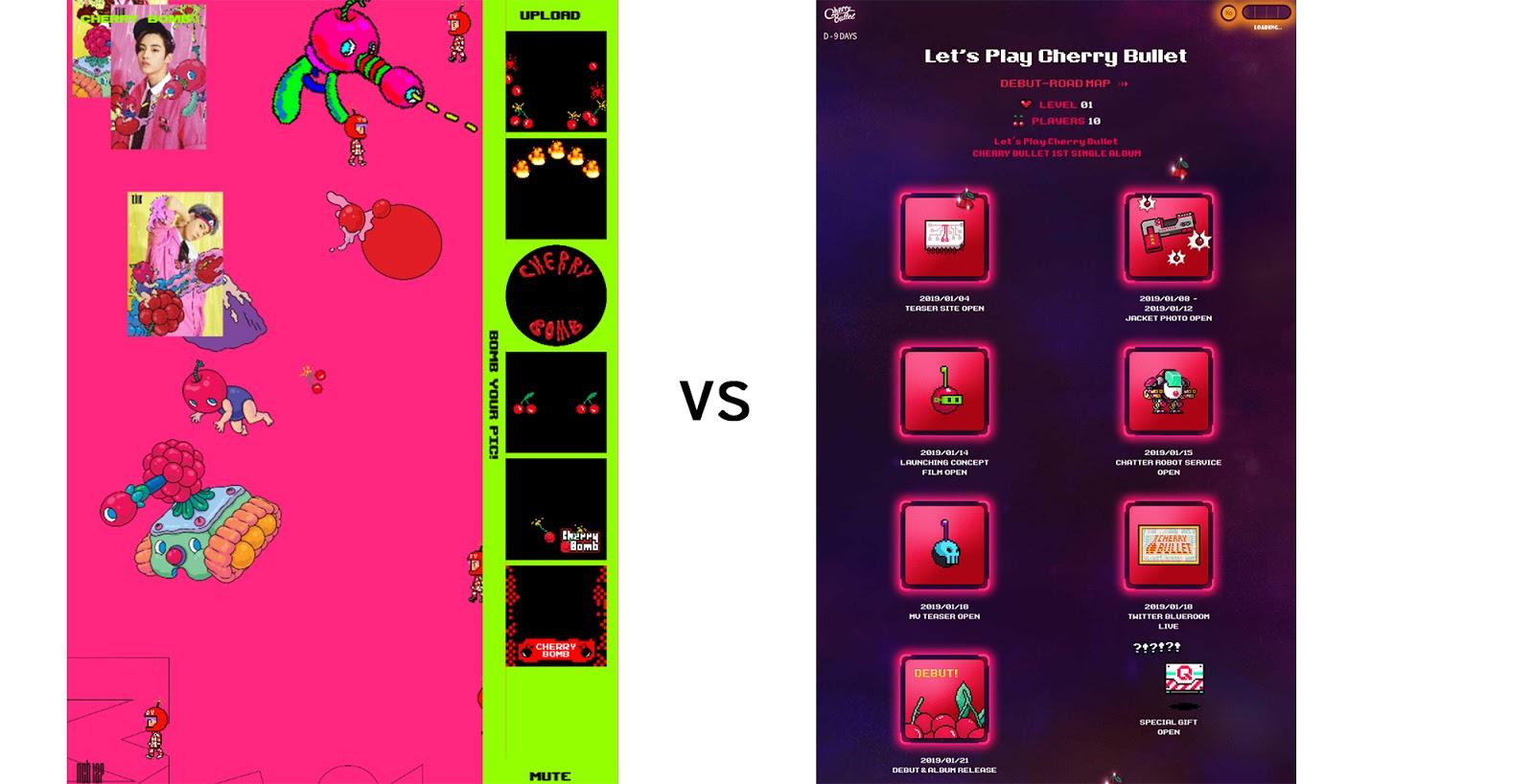 cherry interface