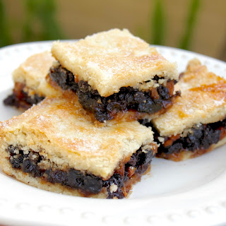 Scottish Fruit Slice, Fruit Squares, Fly Cemetery or Fly's Graveyard (Oh My!).