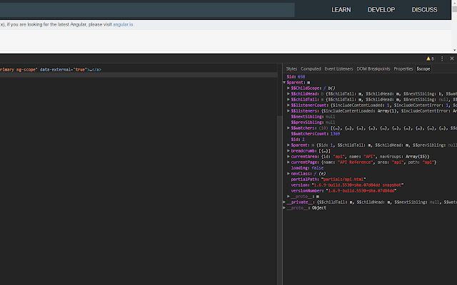 AngularJS debugger