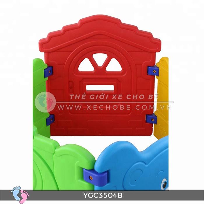 Nhà banh mini cho bé YGC-3504B 13