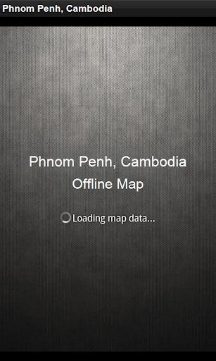 Map Phnom Penh Cambodia