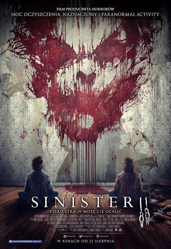 Polski plakat filmu 'Sinister 2'