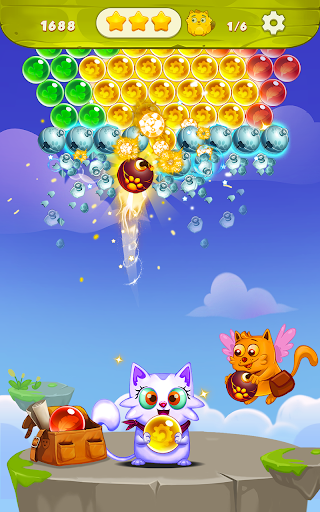 Bubble Shooter: Free Cat Pop Game 2019 1.19 screenshots 10