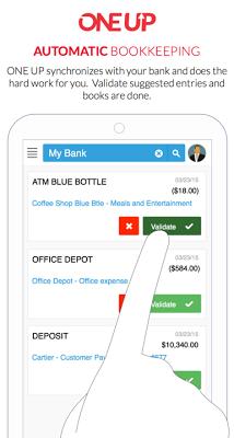 Accounting Invoicing - OneUp - screenshot