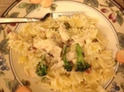 Creamy Farfalle Pasta Recipe