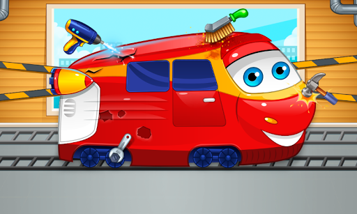 Mechanic : repair of trains.  screenshots 1