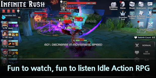 Hack Game Infinite Rush apk free