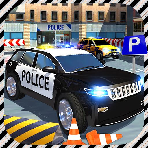 Extreme Police Car Parking 3D 賽車遊戲 App LOGO-硬是要APP