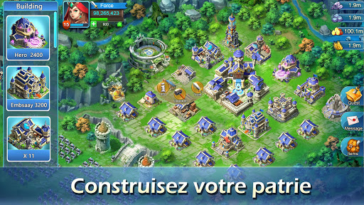 Télécharger Lords of Empire:Kingdom War- Strategy RPG APK MOD 2