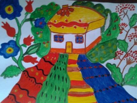 Обласний конкурс дитячого малюнка «Я люблю свій рідний край ...