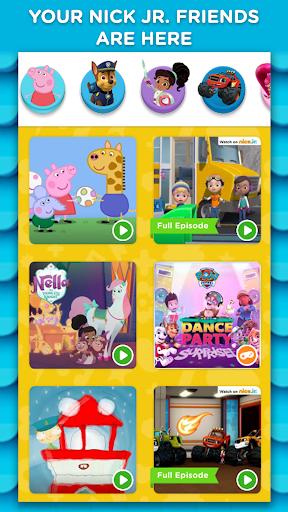 nick jr. play - shows, games, music screenshot 1