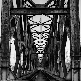 Road into the unknown by Nenad Borojevic Foto - Buildings & Architecture Bridges & Suspended Structures ( railway, bridge,  )
