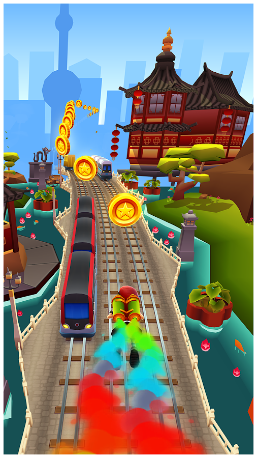 ‪Subway Surfers‬‏- لقطة شاشة