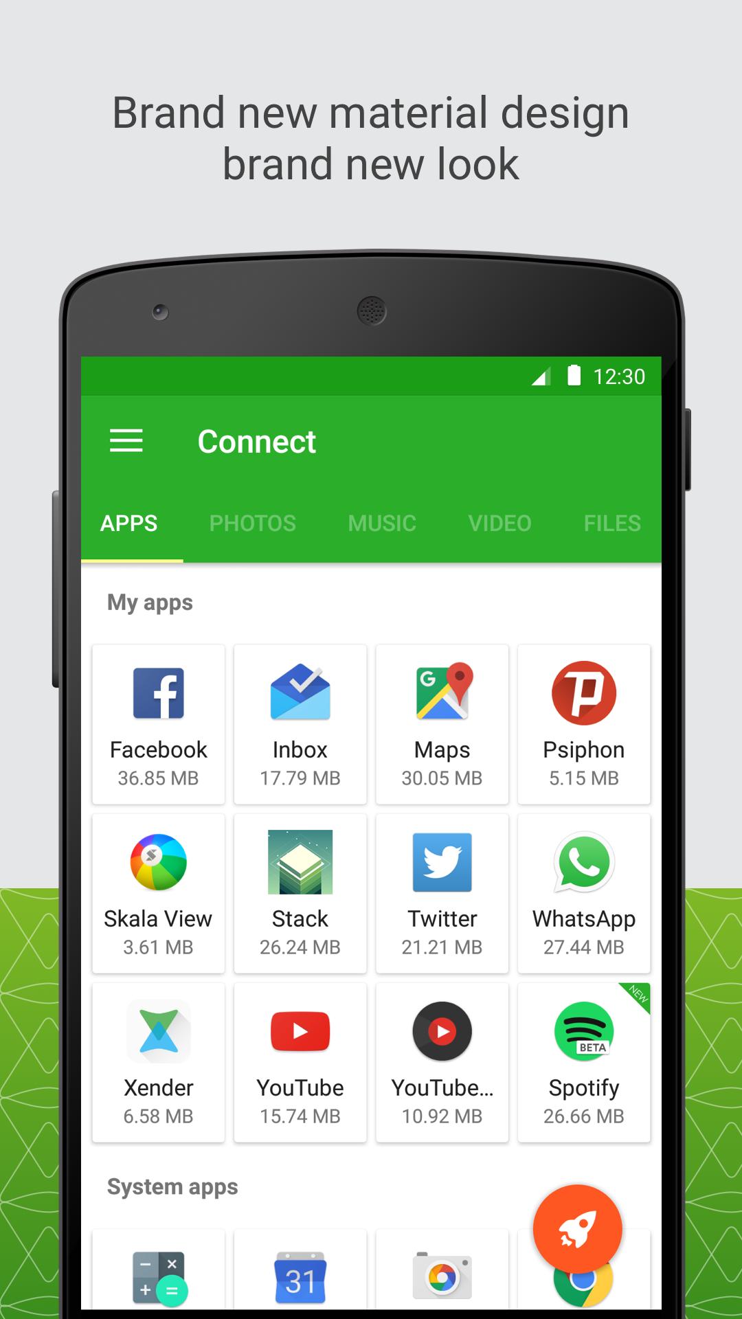 Xender: File Transfer, Sharing screenshot #1