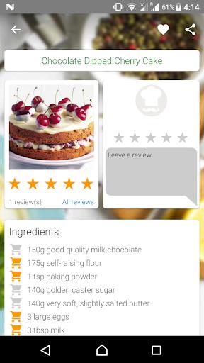 Cake and Baking Recipes Screenshot