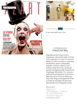 Photo: Article about the FRENCH ART DAY exhibition 2012 in french photo-magazine AZART Photographie  (issue of jan./feb./march 2012), photograph & paragraph about my works.  © top-right photo (Melkorka) by jean-marie babonneau all rights reserved http://www.betterworldinc.org