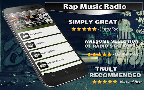 📻 Rap Hip Hop radio 🎧 Gangsta - Old School – Apps on