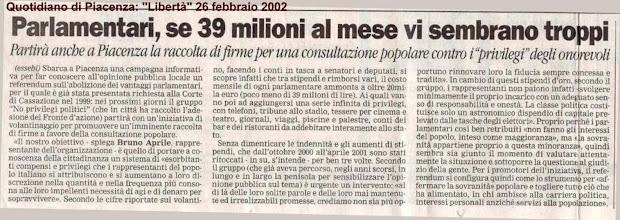 Photo: Questa richiesta di referendum è stata accolta dalla Corte di Cassazione e ne è stato dato avviso sulla G.U. n. 228 del 28 settembre 1999: http://gazzette.comune.jesi.an.it/228-99/11.htm