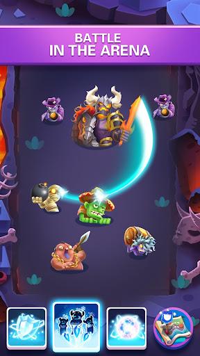 Hero War - Magic vs Monster Bounzy Brick Idle RPG apktreat screenshots 2