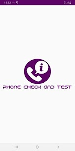 Phone check and test 5