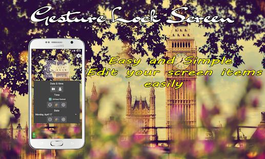 App Gesture Lock Screen APK for Windows Phone