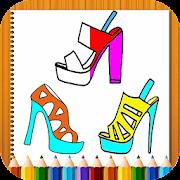 coloring high heels