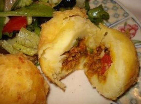 Potato Ball Or Relleno De Papa Recipe