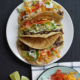Grilled Arrachera Steak Tacos