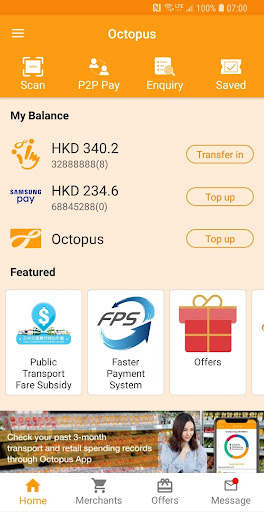 Screenshot for Octopus in Hong Kong Play Store