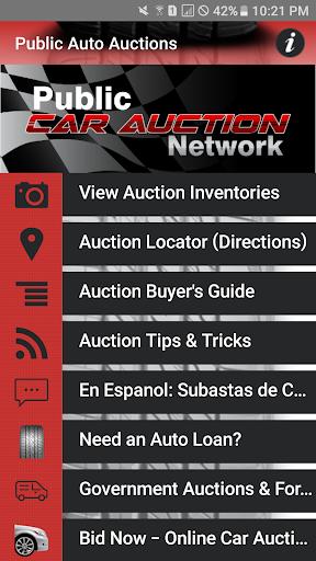 Public Auto Auctions Screenshot