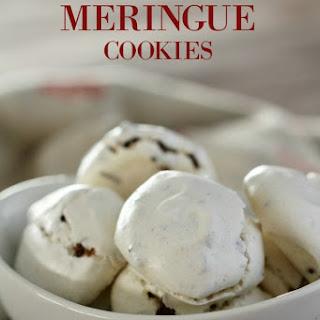 Chocolate Chip Meringue Teaser Cookies.