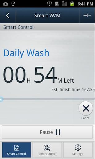 SAMSUNG Smart Washer/Dryer 2.1.38 screenshots 4