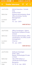 Daily Walkins - IT jobs for developers & freshers APK screenshot thumbnail 2