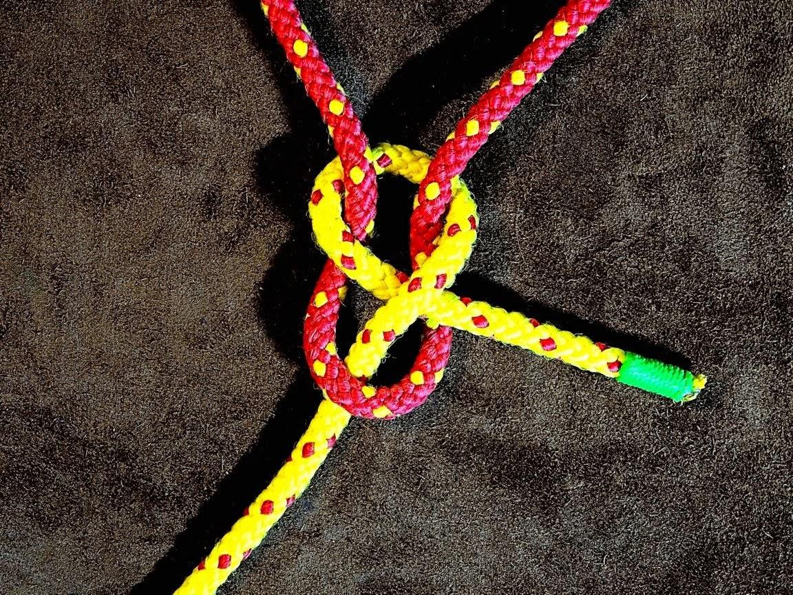 Single Knot Method for Net Making