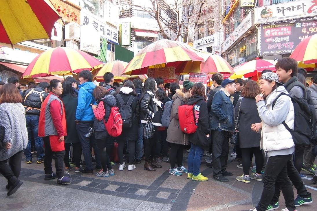 Busan's Famous Hotteok