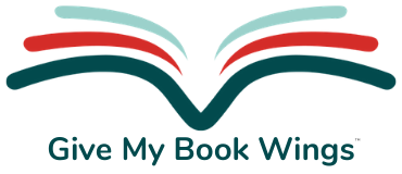 Give My Book Wings™ Logo