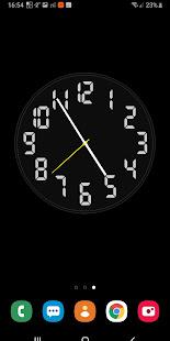 Battery Saving Analog Clocks Live Wallpaper