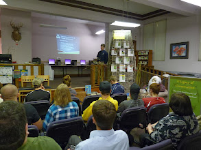 Photo: Seth Moore's Private Land Conservation presentation