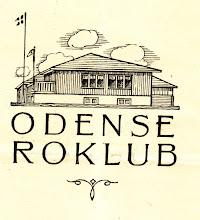 Photo: 1928. Tegning af Odense Roklub
