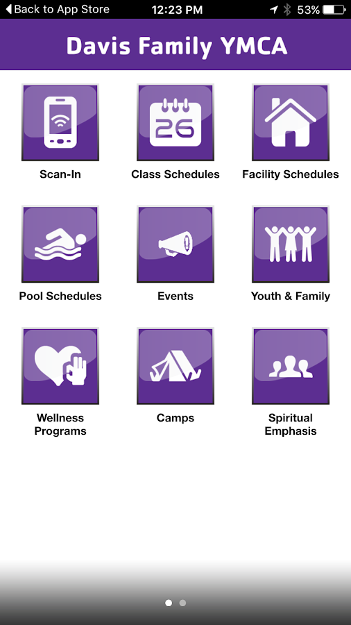 YMCA of Youngstown OH- screenshot