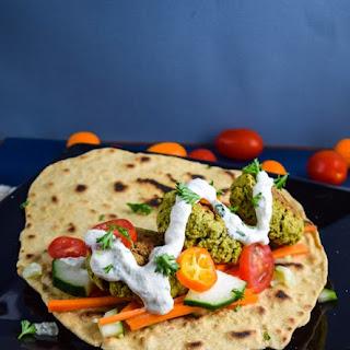 Spinach Artichoke Falafel