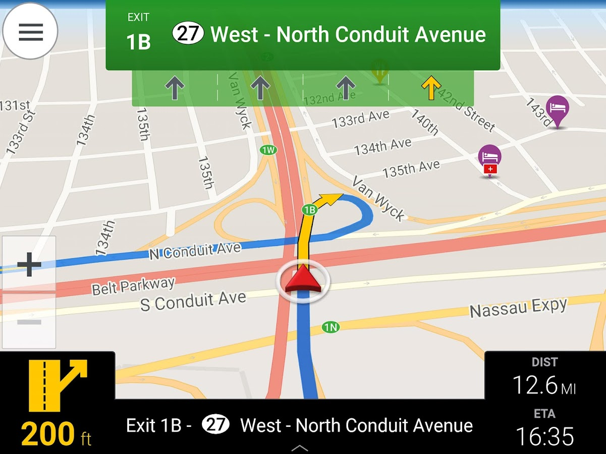 12 in indonesia three times per day google map car got in an accident - Copilot Gps Navigation Screenshot